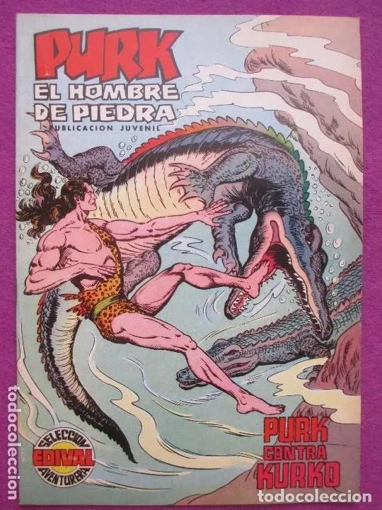 TEBEO, VALENCIANA, PURK EL HOMBRE DE PIEDRA, PURK CONTRA KURKO, NUM.64 (Tebeos y Comics - Valenciana - Purk, el Hombre de Piedra)