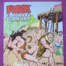 Tebeos: TEBEO PURK EL HOMBRE DE PIEDRA, Nº 82, GRAN TIGRE, VALENCIANA,. Lote 179088382