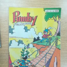 Tebeos: PUMBY #235. Lote 179182731