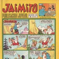 Tebeos: JAIMITO- Nº 1105 - 1971- SERAFIN-KARPA-SANCHIS-PALOP-NIN-ROJAS-CERDÁN-CEREZO-MUY RARO-LEAN-2153. Lote 179188877