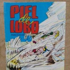 Tebeos: PIEL DE LOBO, COLOSOS DEL COMIC - Nº 13, SARCÓFAGOS DE CRISTAL - ED. VALENCIANA. Lote 179234200
