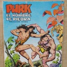 Tebeos: PURK, EL HOMBRE DE PIEDRA - Nº 21, BUSCANDO EL PELIGRO - ED. VALENCIANA. Lote 179234581