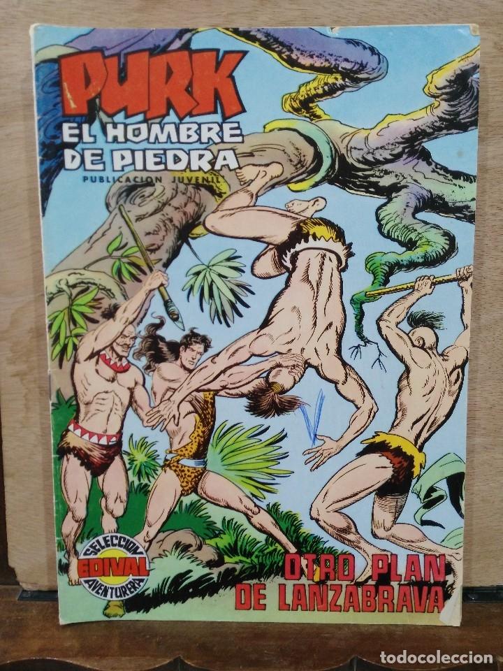 PURK, EL HOMBRE DE PIEDRA - Nº 91, OTRO PLAN DE LANZABRAVA - ED. VALENCIANA (Tebeos y Comics - Valenciana - Purk, el Hombre de Piedra)