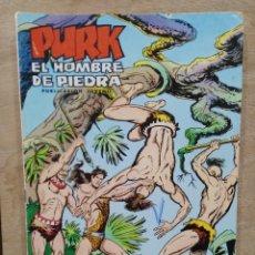 Tebeos: PURK, EL HOMBRE DE PIEDRA - Nº 91, OTRO PLAN DE LANZABRAVA - ED. VALENCIANA. Lote 179234758