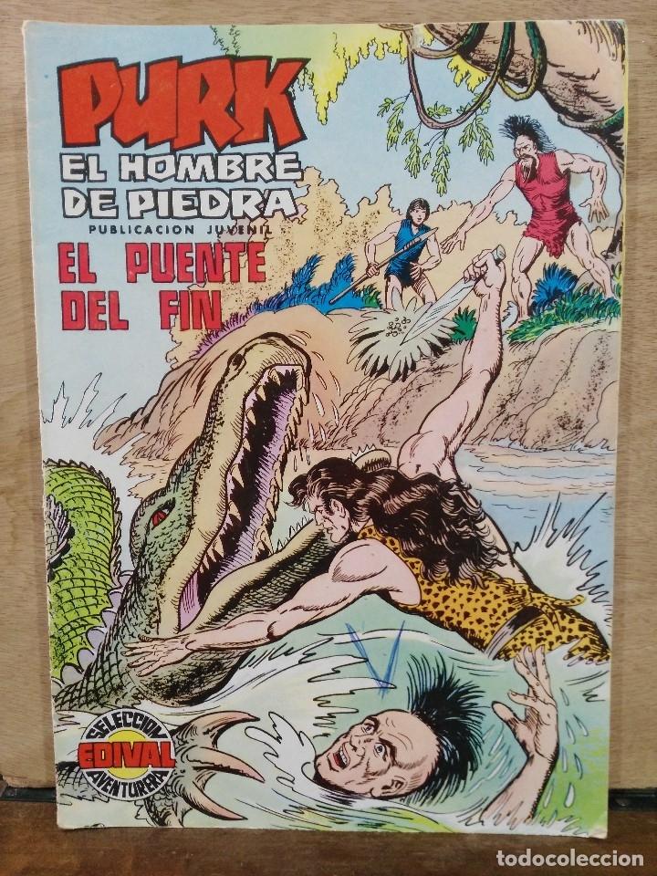 PURK, EL HOMBRE DE PIEDRA - Nº 95, EL PUENTE DEL FIN - ED. VALENCIANA (Tebeos y Comics - Valenciana - Purk, el Hombre de Piedra)