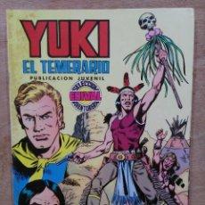 Tebeos: YUKI, EL TEMERARIO - Nº 5, EL TROFEO DE LOS IROQUESES - ED. VALENCIANA. Lote 179235881