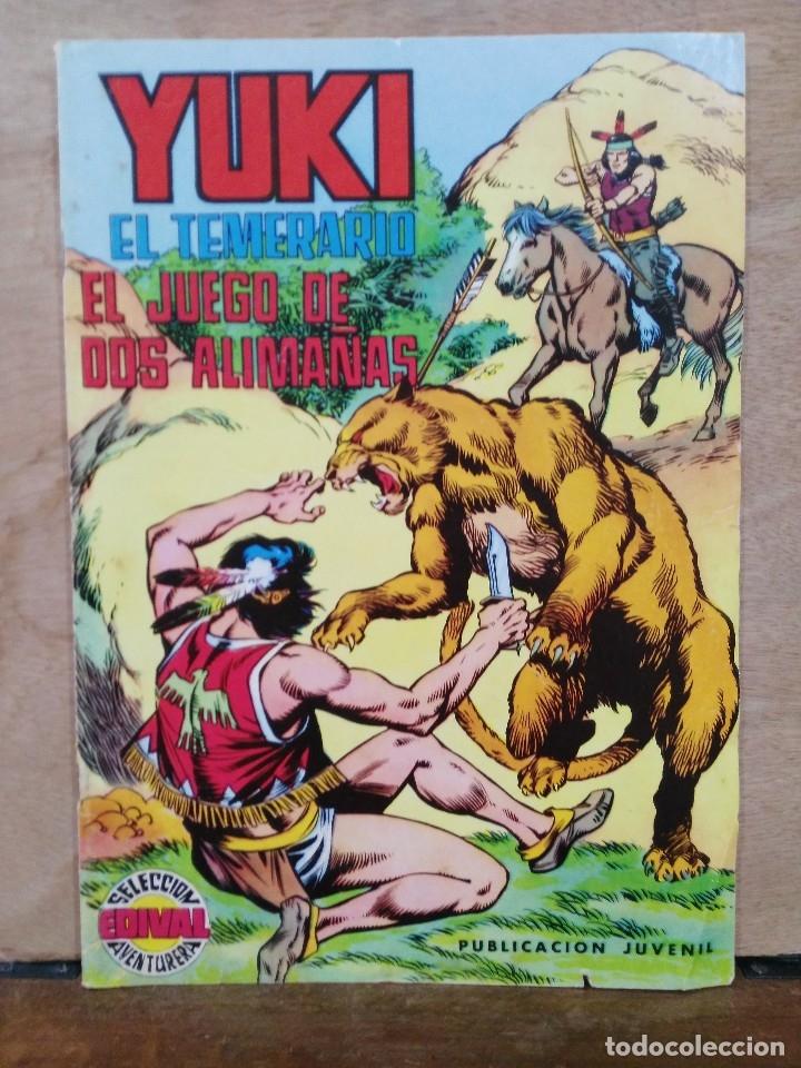YUKI, EL TEMERARIO - Nº 9, EL JUEGO DE DOS ALIMAÑAS - ED. VALENCIANA (Tebeos y Comics - Valenciana - Selección Aventurera)