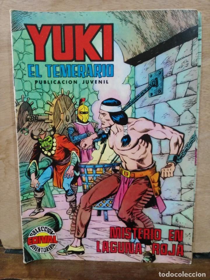 YUKI EL TEMERARIO - Nº 13, MISTERIO EN LAGUNA ROJA - ED. VALENCIANA (Tebeos y Comics - Valenciana - Selección Aventurera)