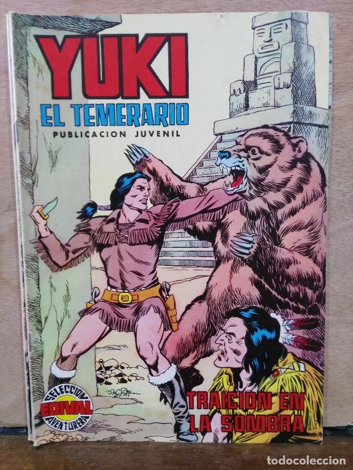 YUKI EL TEMERARIO - Nº 15, TRAICIÓN EN LA SOMBRA - ED. VALENCIANA (Tebeos y Comics - Valenciana - Selección Aventurera)