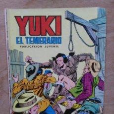 Tebeos: YUKI EL TEMERARIO - Nº 17, AL PIE DE LA HORCA - ED. VALENCIANA. Lote 179237096