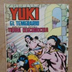 Tebeos: YUKI EL TEMERARIO - Nº 19, TIERRA DESCONOCIDA - ED. VALENCIANA. Lote 179237201