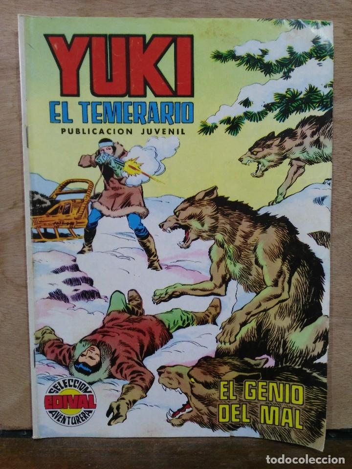 YUKI EL TEMERARIO - Nº 21, EL GENIO DEL MAL - ED. VALENCIANA (Tebeos y Comics - Valenciana - Selección Aventurera)