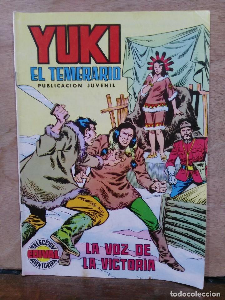 YUKI EL TEMERARIO - Nº 22, LA VOZ DE LA VICTORIA - ED. VALENCIANA (Tebeos y Comics - Valenciana - Selección Aventurera)