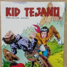 Tebeos: KID TEJANO - Nº 11, UNO MENOS - ED. VALENCIANA. Lote 179237727