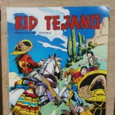 Tebeos: KID TEJANO - Nº 13, ¡EL PASO, 1847! - ED. VALENCIANA. Lote 179237836