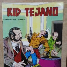 Tebeos: KID TEJANO - Nº 17, UN MAL PASO - ED. VALENCIANA. Lote 179238276
