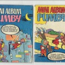 Tebeos: MINI ALBUM PUMBY EDITORIAL VALENCIANA N,16,17 Y 18 AÑO 1984. Lote 179244006