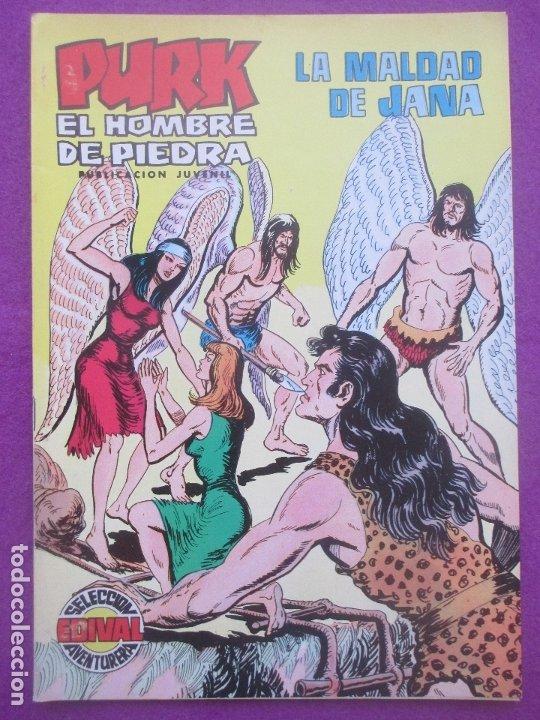 TEBEO PURK EL HOMBRE DE PIEDRA, Nº 101, LA MALDAD DE JANA, VALENCIANA, (Tebeos y Comics - Valenciana - Purk, el Hombre de Piedra)