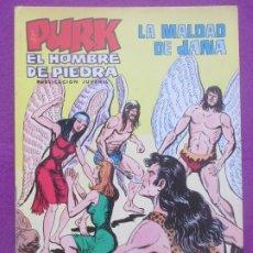 Tebeos: TEBEO PURK EL HOMBRE DE PIEDRA, Nº 101, LA MALDAD DE JANA, VALENCIANA,. Lote 179249116
