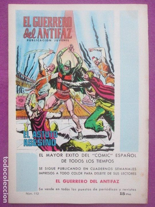 Tebeos: TEBEO PURK EL HOMBRE DE PIEDRA, Nº 112, ARMA DE TIBA, VALENCIANA, - Foto 2 - 179249565