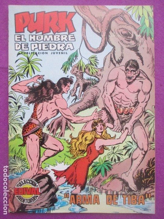 TEBEO PURK EL HOMBRE DE PIEDRA, Nº 112, ARMA DE TIBA, VALENCIANA, (Tebeos y Comics - Valenciana - Purk, el Hombre de Piedra)
