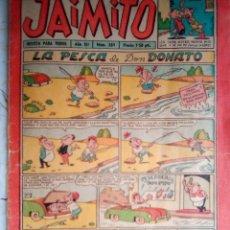 Tebeos: JAIMITO-SEMANAL- Nº 389 -KARPA-STATE KETO-JOSÉ SANCHIS-SERAFÍN-PALOP-1957-CLÁSICO-DIFÍCIL-BUENO-2162. Lote 179310655