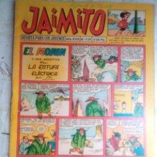 Tebeos: JAIMITO-SEMANAL- Nº 739 -KARPA-NIN-PALOP-ROJAS-JOSÉ SANCHIS-1963-CLÁSICO-DIFÍCIL-BUENO-LEAN-2163. Lote 179315583