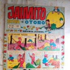 Tebeos: JAIMITO-SEMANAL- Nº 1451 -EXTRA DE OTOÑO-1977-PALOP-NIN-KARPA-SANCHIS-CERDÁN-DIFÍCIL-BUENO-2166. Lote 179324767