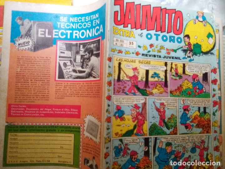 Tebeos: JAIMITO-SEMANAL- Nº 1451 -EXTRA DE OTOÑO-1977-PALOP-NIN-KARPA-SANCHIS-CERDÁN-DIFÍCIL-BUENO-2166 - Foto 2 - 179324767