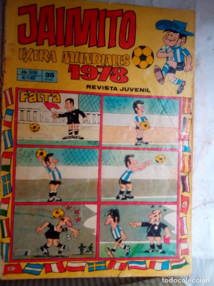 JAIMITO-SEMANAL- Nº 1451 -EXTRA MUNDIAL-1978-PALOP-KARPA-SANCHIS-AMBRÓS-DIFÍCIL-REGULAR-LEAN--2168 (Tebeos y Comics - Valenciana - Jaimito)