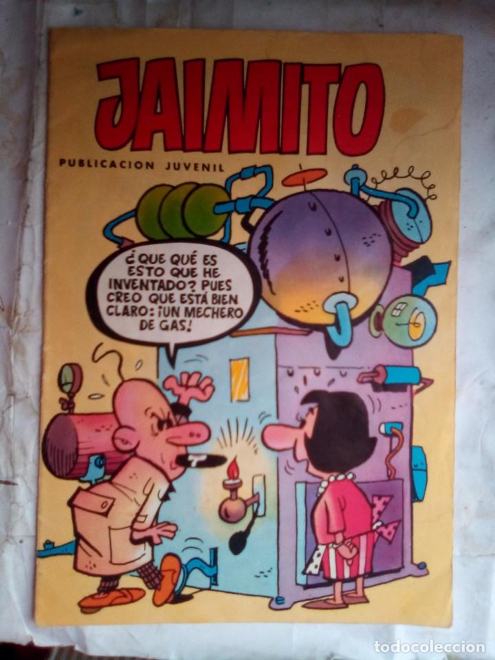 JAIMITO-SEMANAL- Nº 1656 -1984- CARBÓ-LICERAS-J.CARRIÓN-SIFRE-VILA-CASTILLO-DIFÍCIL-BUENO-LEAN-2175 (Tebeos y Comics - Valenciana - Jaimito)
