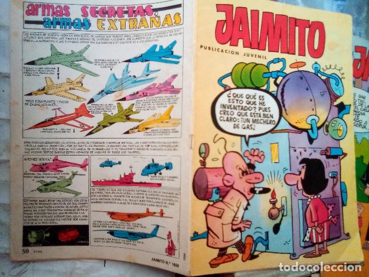 Tebeos: JAIMITO-SEMANAL- Nº 1656 -1984- CARBÓ-LICERAS-J.CARRIÓN-SIFRE-VILA-CASTILLO-DIFÍCIL-BUENO-LEAN-2175 - Foto 2 - 179339981