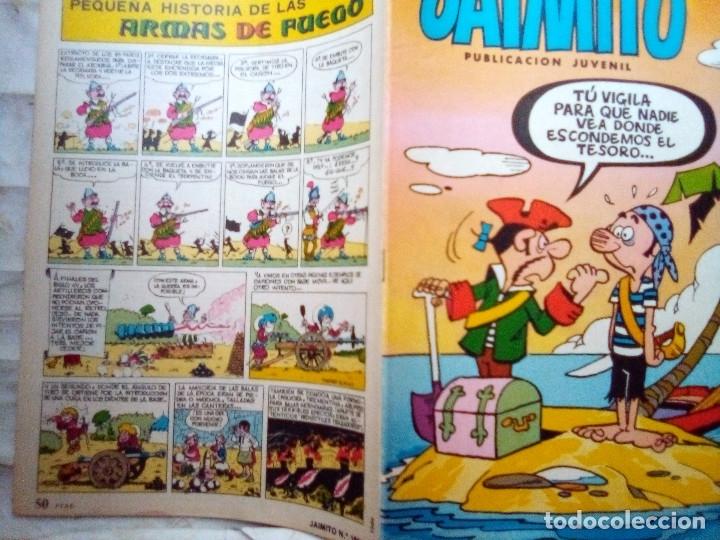 Tebeos: JAIMITO-SEMANAL- Nº 1664 -1984- CARBÓ-A.ELÍAS-PAYAGILL-VEGA-DIFÍCIL-MUY BUENO-LEAN-2176 - Foto 2 - 179340290