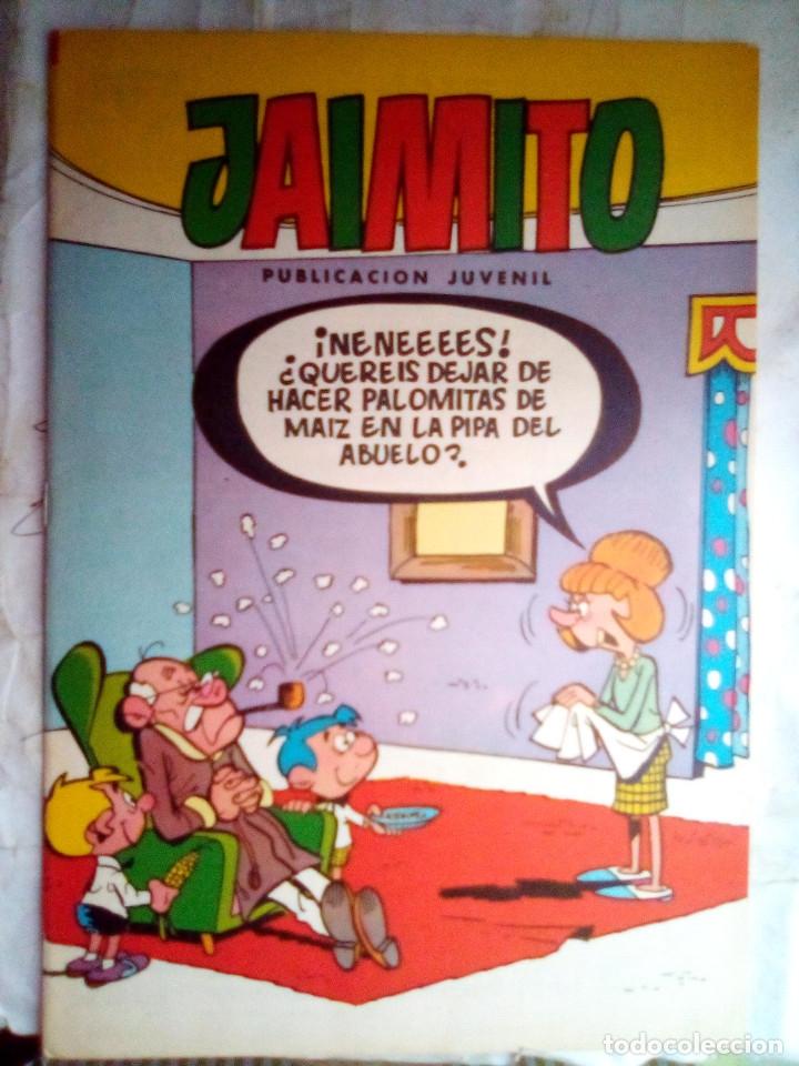 JAIMITO-SEMANAL- Nº 1666 -1984- CARBÓ-A.ELÍAS-PAYAGILL-VEGA-LICERAS-DIFÍCIL-MUY BUENO-LEAN-2177 (Tebeos y Comics - Valenciana - Jaimito)
