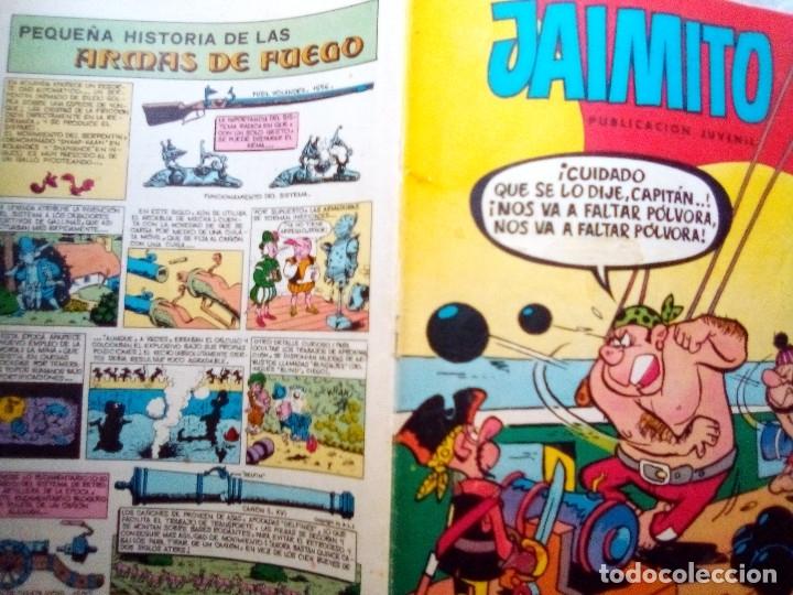 Tebeos: JAIMITO-SEMANAL- Nº 1667 -1984- CARBÓ-A.ELÍAS-LUIS RUBIO-VEGA-LICERAS-DIFÍCIL-BUENO-LEAN-2178 - Foto 2 - 179340653