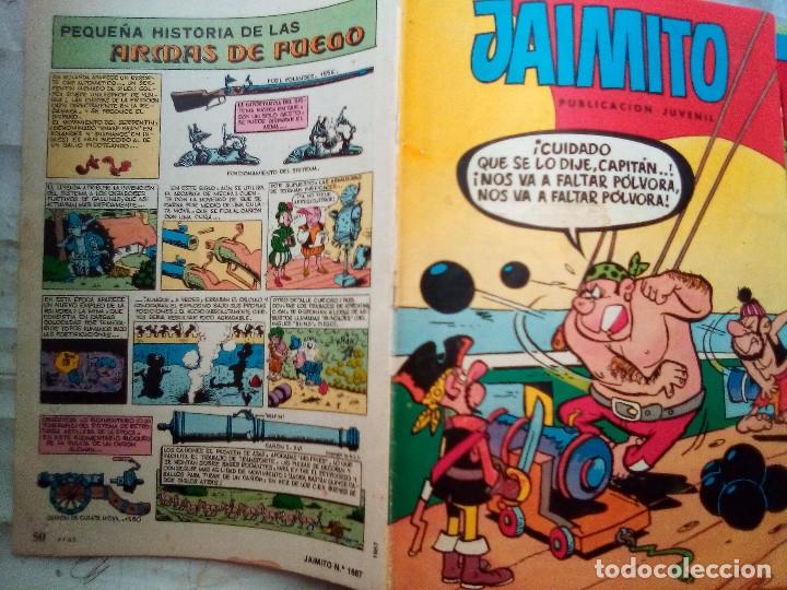 Tebeos: JAIMITO-SEMANAL- Nº 1667 -1984- CARBÓ-A.ELÍAS-LUIS RUBIO-VEGA-LICERAS-DIFÍCIL-BUENO-LEAN-2178 - Foto 4 - 179340653