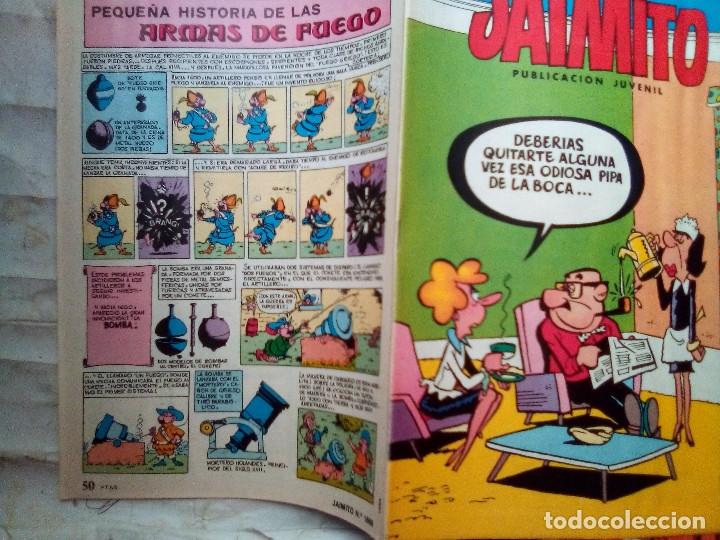 Tebeos: JAIMITO-SEMANAL- Nº 1668 -1984- CARBÓ-ANTONIO GUERRERO-LUIS RUBIO-VEGA-DIFÍCIL-BUENO-LEAN-2179 - Foto 2 - 179340768