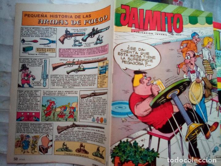 Tebeos: JAIMITO-SEMANAL- Nº 1669 -1984- CARBÓ-LUIS RUBIO-VEGA-EDGAR-J.CARRIÓN-DIFÍCIL-M.BUENO-LEAN-2180 - Foto 2 - 179340902