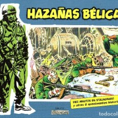 Tebeos: HAZAÑAS BELICAS Nº1-BOIXCAR-6 HISTORIAS B&N ED.PLANETA/VALENCIANA 2014 TAPA DURA. Lote 179341430