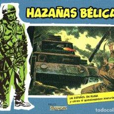 Tebeos: HAZAÑAS BELICAS Nº3-BOIXCAR-6 HISTORIAS B&N ED.PLANETA/VALENCIANA 2014 TAPA DURA. Lote 179341465