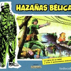 Tebeos: HAZAÑAS BELICAS Nº5-BOIXCAR-4 HISTORIAS B&N ED.PLANETA/VALENCIANA 2014 TAPA DURA. Lote 179341472