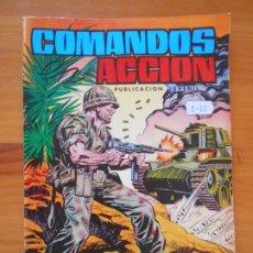 Tebeos: COMANDOS EN ACCION Nº 7 - MISION TRAGICA - EDITORIAL VALENCIANA (FW). Lote 179396668