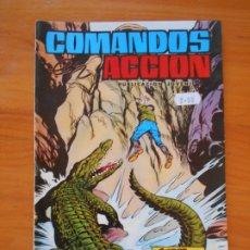 Tebeos: COMANDOS EN ACCION Nº 47 - FUEGO ARROLLADOR - EDITORIAL VALENCIANA (FW). Lote 179397668