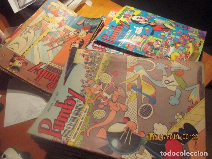PUMBY -GRAN LOTE 83 NUMEROS PUMBY (ENTRE EL 587 Y EL 1113) +3 ALMANAQUES Y 1 EXTRA,- VALENCIANA (Tebeos y Comics - Valenciana - Pumby)