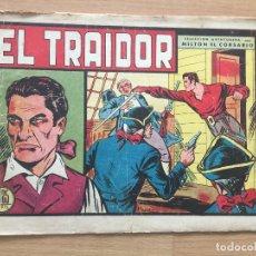 Tebeos: MILTON EL CORSARIO, Nº 4 - VALENCIANA, ORIGINAL - GCH. Lote 180089646