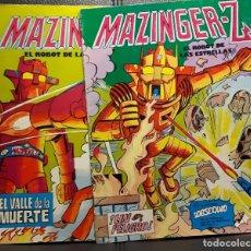 Tebeos: MAZINGER Z EL ROBOT DE LAS ESTRELLAS - NUMEROS 2 Y 3 - VALENCIANA - VER DESCRIPCION - MAZINGUER. Lote 180117590