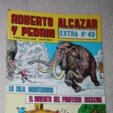 Tebeos: ROBERTO ALCAZAR Y PEDRIN, EXTRA Nº49: LA ISLA MISTERIOSA+ EL INVENTO DEL PR.DICKENS. Lote 180126786