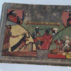 Tebeos: EL GUERRERO DEL ANTIFAZ - EDITORIAL VALENCIANA - TOMO ENCUADERNADO DEL Nº 1 AL 69 AÑOS 40. Lote 180155357