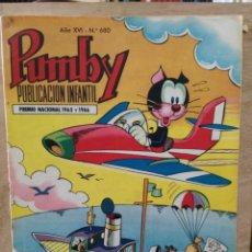 Tebeos: PUMBY - AÑO XVI Nº 680 - ED. VALENCIANA. Lote 180165818