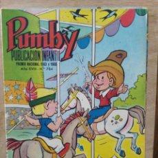 Tebeos: PUMBY - AÑO XVIII Nº 784 - ED. VALENCIANA. Lote 180166081